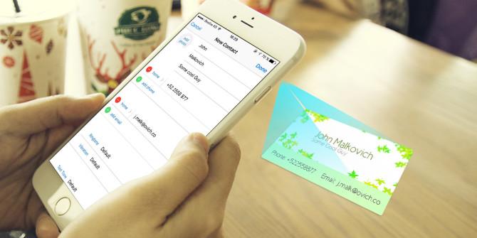 در مورد کارت ویزیت الکترونیکی بیشتر بدانید
